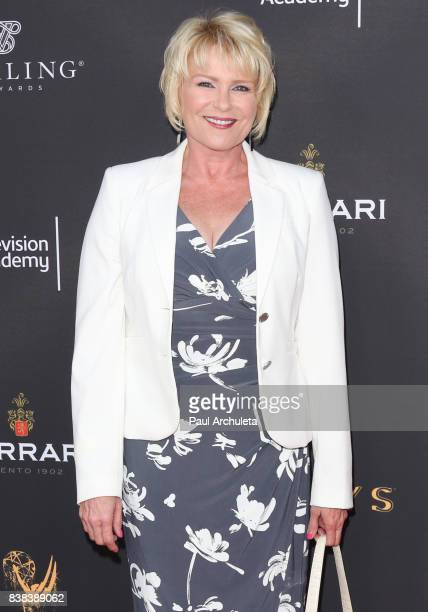 Actress Judi Evans attends the Television Academy's cocktail reception with the Stars of Daytime Television celebrating The 69th Emmy Awards at Saban...