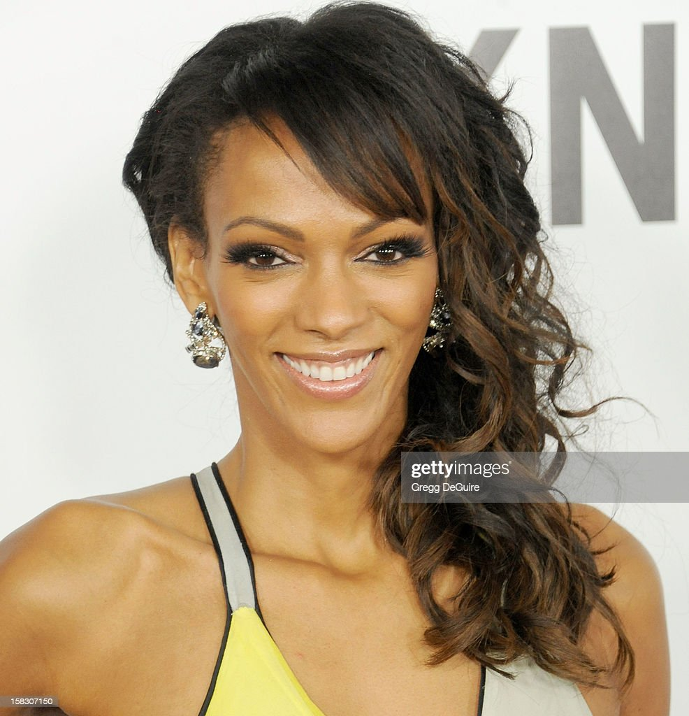 Actress Judi Shekoni arrives at the Los Angeles premiere of 'This Is 40' at Grauman's Chinese Theatre on December 12, 2012 in Hollywood, California.