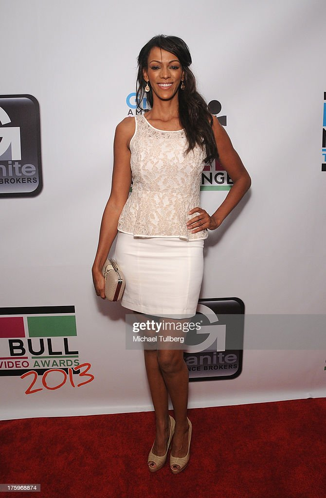 Actress Judi Shekoni attends the 2013 No Bull Teen Video Awards at Westin LAX Hotel on August 10, 2013 in Los Angeles, California.