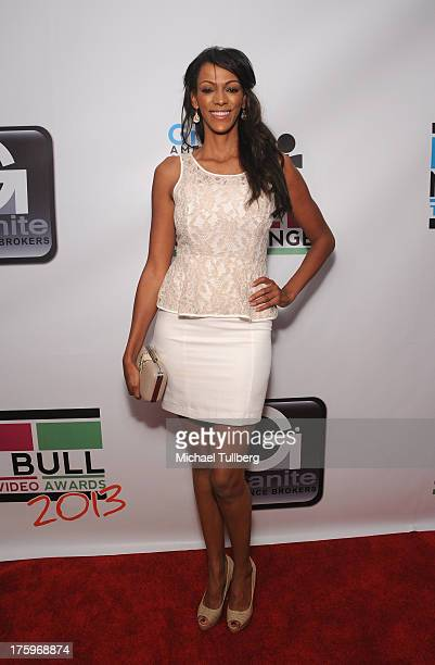 Actress Judi Shekoni attends the 2013 No Bull Teen Video Awards at Westin LAX Hotel on August 10 2013 in Los Angeles California