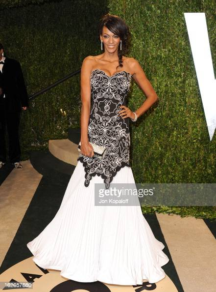Actress Judi Shekoni attends the 2013 Vanity Fair Oscar party at Sunset Tower on February 24 2013 in West Hollywood California