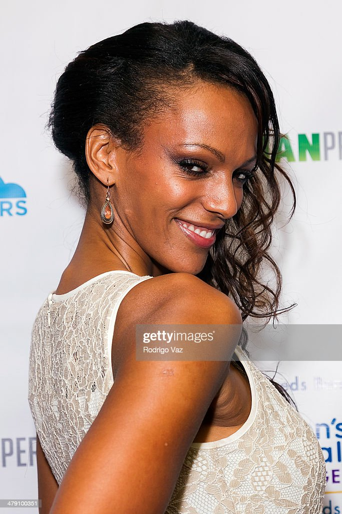 Actress Judi Shekoni attends The Dream Builders Project 'A Brighter Future For Children' at H.O.M.E. on March 15, 2014 in Beverly Hills, California.