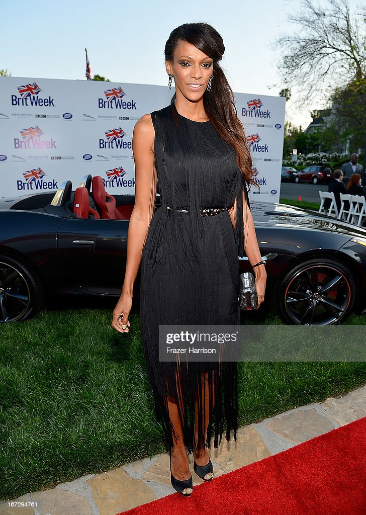 Actress Judi Shekoni attends the launch of the Seventh Annual BritWeek Festival 'A Salute To Old Hollywood' on April 23, 2013 in Los Angeles, California.