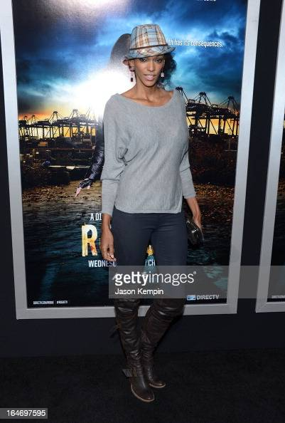 Actress Judi Shekoni attends the premiere of 'Rogue' at ArcLight Cinemas on March 26 2013 in Hollywood California