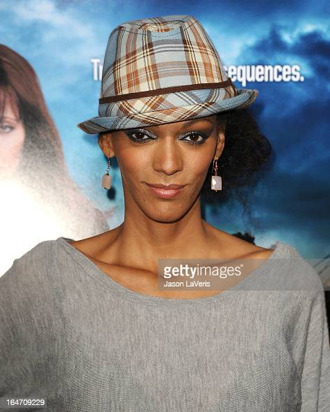 Actress Judi Shekoni attends the premiere of 'Rogue' at ArcLight Hollywood on March 26 2013 in Hollywood California