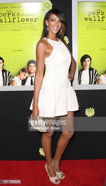 Actress Judi Shekoni attends the Premiere Of Summit Entertainment's 'The Perks Of Being A Wallflower' at the Arclight Cinerama Dome on September 10...