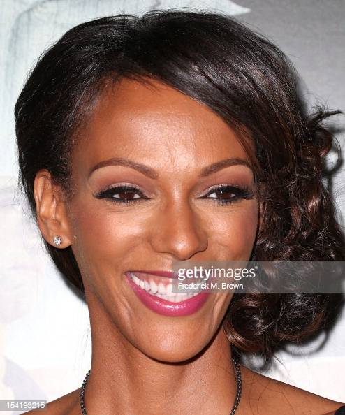 Actress Judi Shekoni attends the Premiere Of Summit Entertainment's 'Alex Cross' at the ArcLight Cinemas Cinerama Dome on October 15 2012 in...