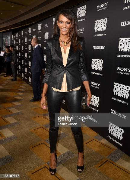Actress Judi Shekoni attends the 'Zero Dark Thirty' Los Angeles Premiere at Dolby Theatre on December 10 2012 in Hollywood California