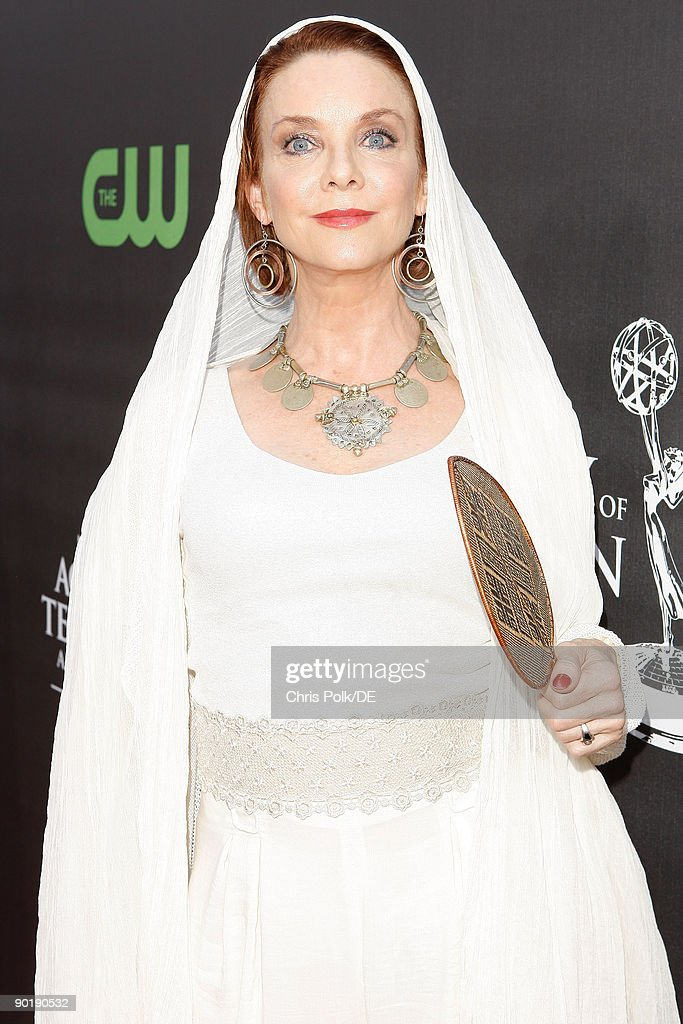 Actress Judith Chapman arrives at the 36th Annual Daytime Emmy Awards at The Orpheum Theatre on August 30, 2009 in Los Angeles, California.
