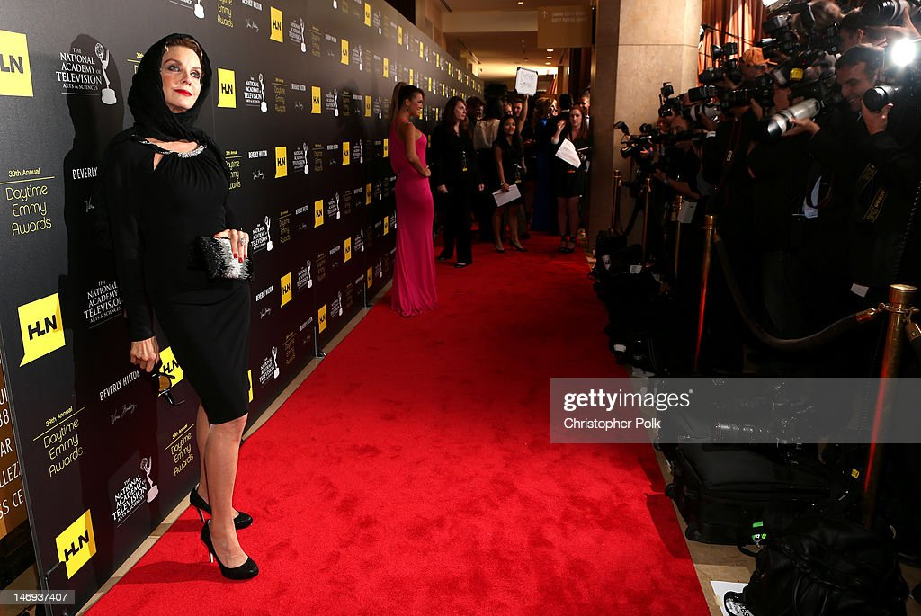 Actress Judith Chapman arrives at The 39th Annual Daytime Emmy Awards broadcasted on HLN held at The Beverly Hilton Hotel on June 23, 2012 in Beverly Hills, California. (Photo by Christopher Polk/WireImage) 22542_003_CP_0086.JPG