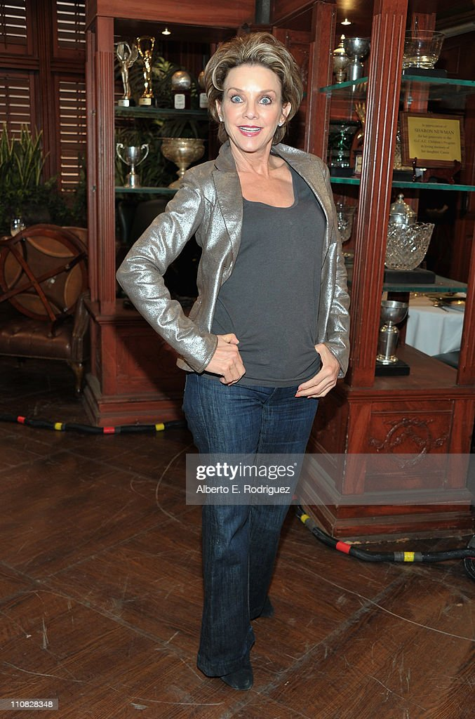 Actress Judith Chapman attends CBS' 'The Young and the Restless' 38th Anniversary cake cutting on March 24 2011 in Los Angeles California