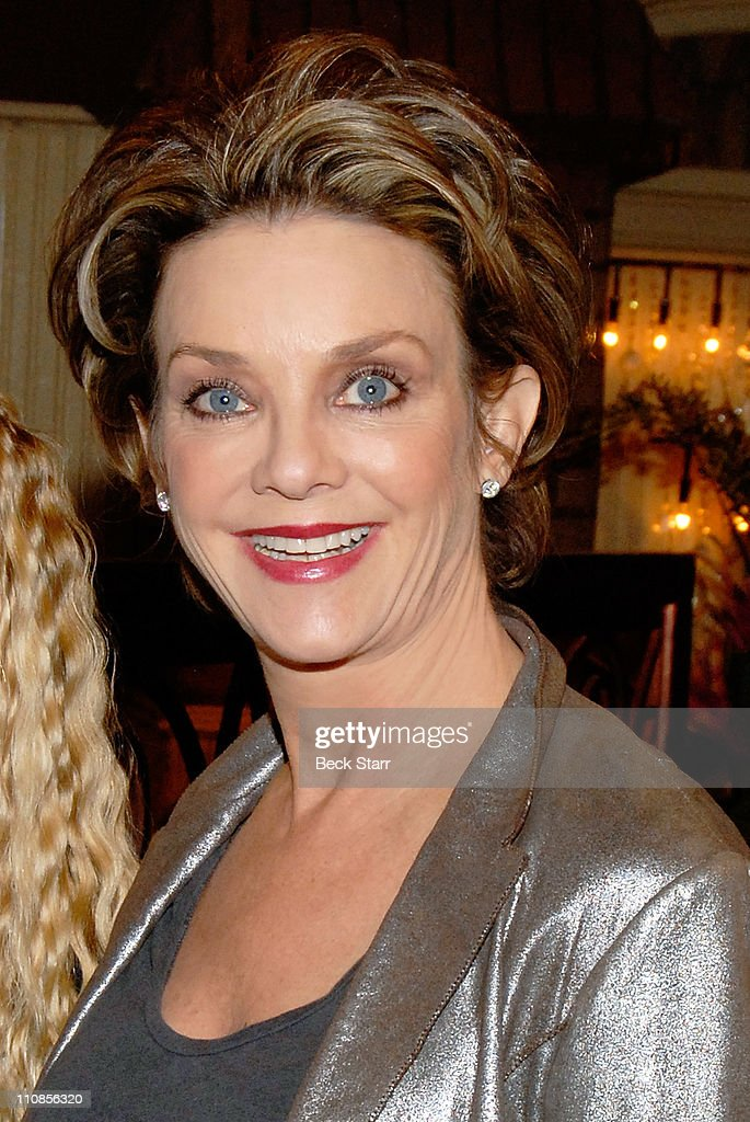 Actress <a gi-track='captionPersonalityLinkClicked' href=/galleries/search?phrase=Judith+Chapman&family=editorial&specificpeople=665937 ng-click='$event.stopPropagation()'>Judith Chapman</a> attends CBS' 'Young and the Restless' 38th Anniversary cake cutting at CBS Studios on March 24, 2011 in Los Angeles, California.