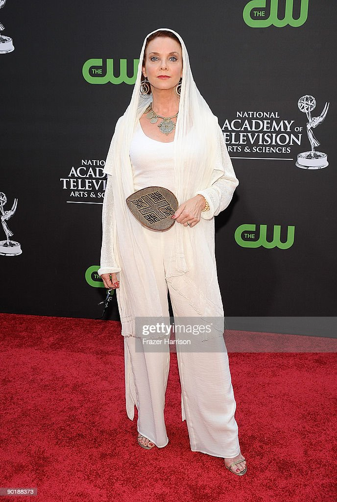 Actress Judith Chapman attends the 36th Annual Daytime Emmy Awards at The Orpheum Theatre on August 30 2009 in Los Angeles California Photo by Frazer...
