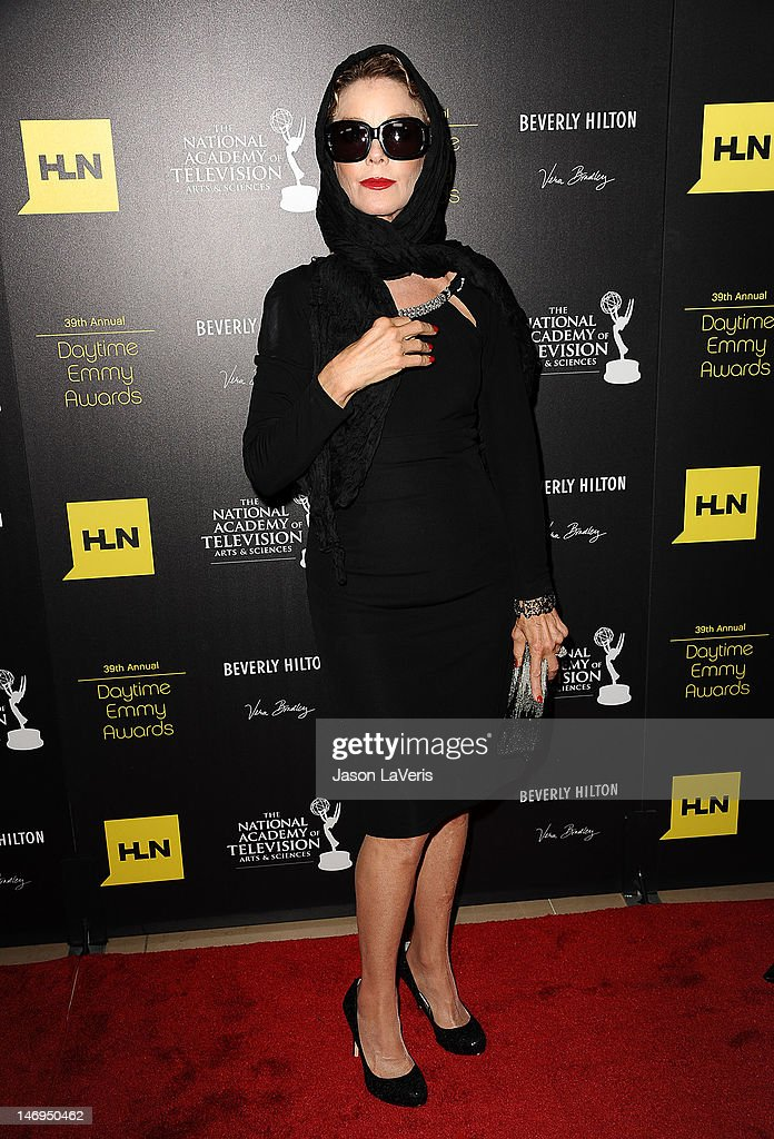 Actress <a gi-track='captionPersonalityLinkClicked' href=/galleries/search?phrase=Judith+Chapman&family=editorial&specificpeople=665937 ng-click='$event.stopPropagation()'>Judith Chapman</a> attends the 39th annual Daytime Emmy Awards at The Beverly Hilton Hotel on June 23, 2012 in Beverly Hills, California.