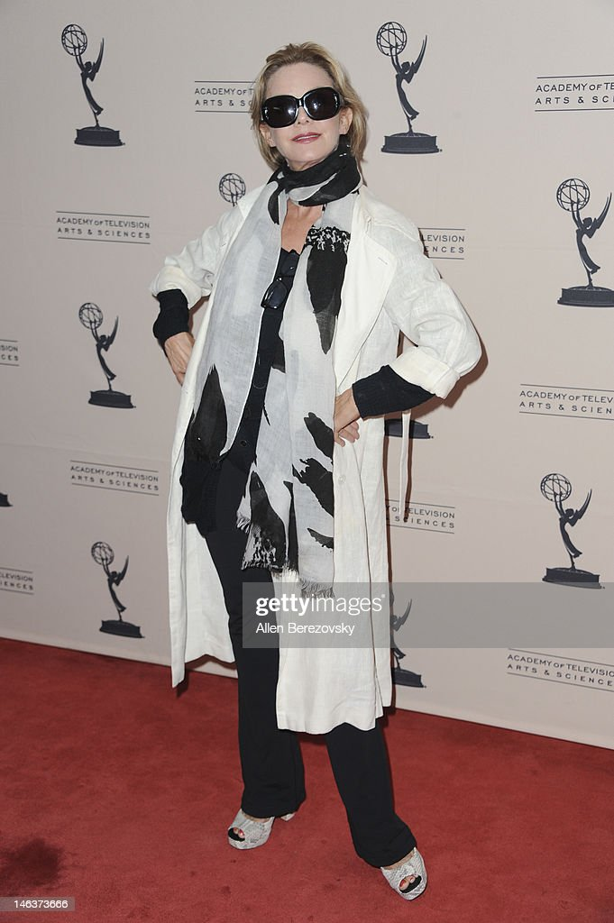 Actress <a gi-track='captionPersonalityLinkClicked' href=/galleries/search?phrase=Judith+Chapman&family=editorial&specificpeople=665937 ng-click='$event.stopPropagation()'>Judith Chapman</a> attends the 39th Daytime Entertainment Emmy Awards - Nominees Reception at SLS Hotel on June 14, 2012 in Beverly Hills, California.