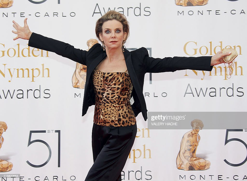 US actress Judith Chapman poses during the Closing Ceremony of the 2011 Monte Carlo Television Festival held at the Grimaldi Forum on June 10, 2011 in Monte-Carlo, Monaco. The Monte Carlo Television Festival, held since 1961, aims at encouraging the new art form of television.