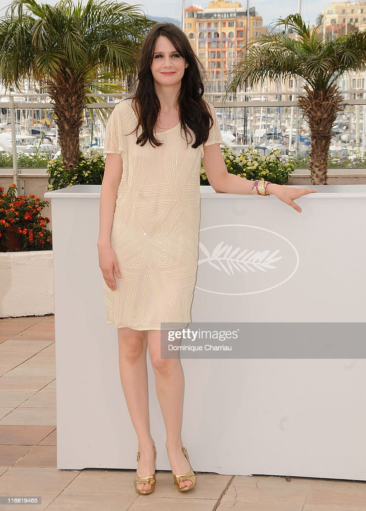 Actress <a gi-track='captionPersonalityLinkClicked' href=/galleries/search?phrase=Judith+Chemla&family=editorial&specificpeople=5350682 ng-click='$event.stopPropagation()'>Judith Chemla</a> attend the Versailles photocall at the Palais des Festivals during the 61st Cannes International Film Festival on May 20, 2008 in Cannes, France.