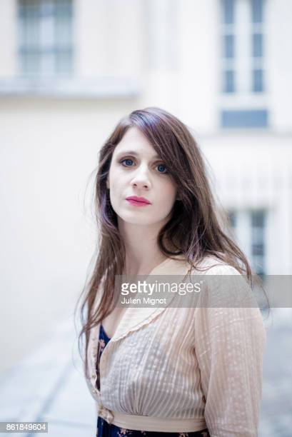 Actress Judith Chemla is photographed for Grazia Magazine on January 2016 in Paris France