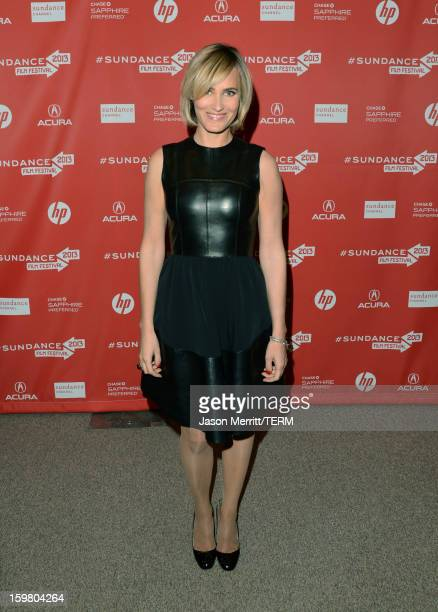 Actress Judith Godrèche attends the 'Stoker' premiere at the Eccles Center Theatre during the 2013 Sundance Film Festival on January 20 2013 in Park...
