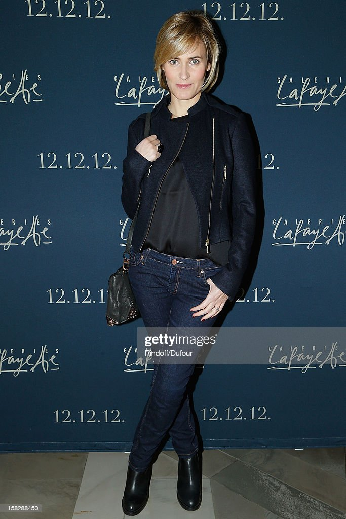 Actress <a gi-track='captionPersonalityLinkClicked' href=/galleries/search?phrase=Judith+Godreche&family=editorial&specificpeople=624126 ng-click='$event.stopPropagation()'>Judith Godreche</a> attends the Galeries Lafayette 100th Anniversary Bal on December 12, 2012 in Paris, France.
