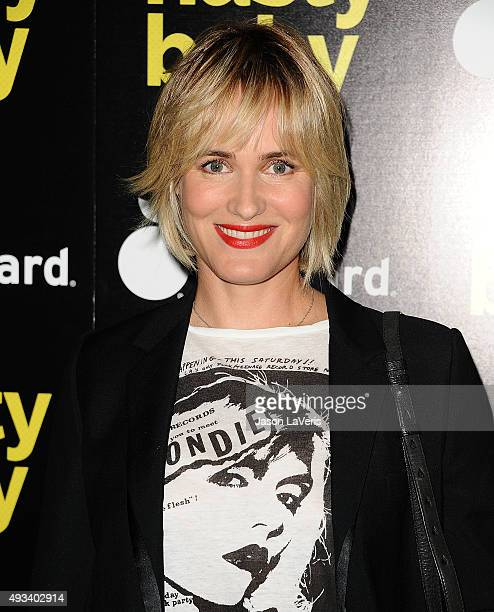 Actress Judith Godreche attends the premiere of 'Nasty Baby' at ArcLight Cinemas on October 19 2015 in Hollywood California
