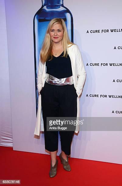 Actress Judith Hoersch attends the 'A Cure for Wellness' Berlin premiere on January 29 2017 in Berlin Germany