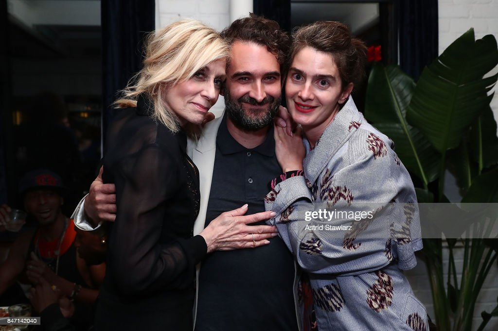 Actress Judith Light, actor/director Jay Duplass and actress Gaby Hoffmann attend a screening event for members of the Screen Actors Guild in New York for the Amazon Prime series 'Transparent' on September 14, 2017 in New York City.