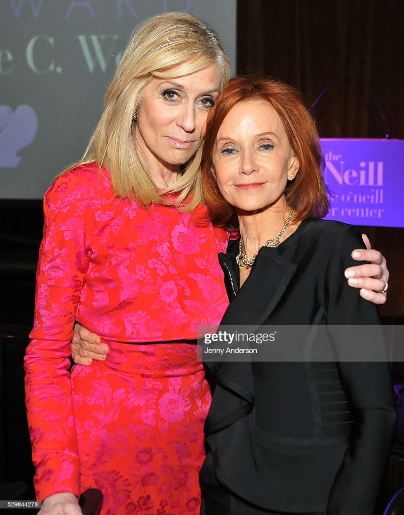 Actress Judith Light and Swoosie Kurtz attend the 16th Annual Monte Cristo Award ceremony honoring George C Wolfe presented by The Eugene O'Neill...