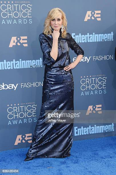 Actress Judith Light arrives at The 22nd Annual Critics' Choice Awards at Barker Hangar on December 11 2016 in Santa Monica California