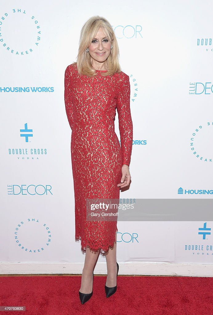 Actress <a gi-track='captionPersonalityLinkClicked' href=/galleries/search?phrase=Judith+Light&family=editorial&specificpeople=214207 ng-click='$event.stopPropagation()'>Judith Light</a> attends the 2015 Housing Works Groundbreaker Awards at Metropolitan Pavilion on April 22, 2015 in New York City.