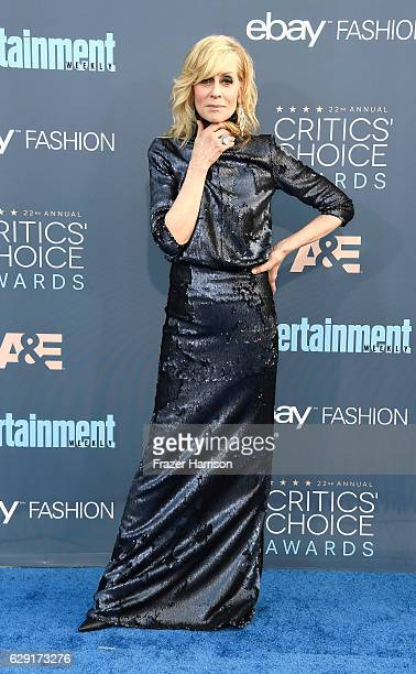 Actress Judith Light attends The 22nd Annual Critics' Choice Awards at Barker Hangar on December 11 2016 in Santa Monica California