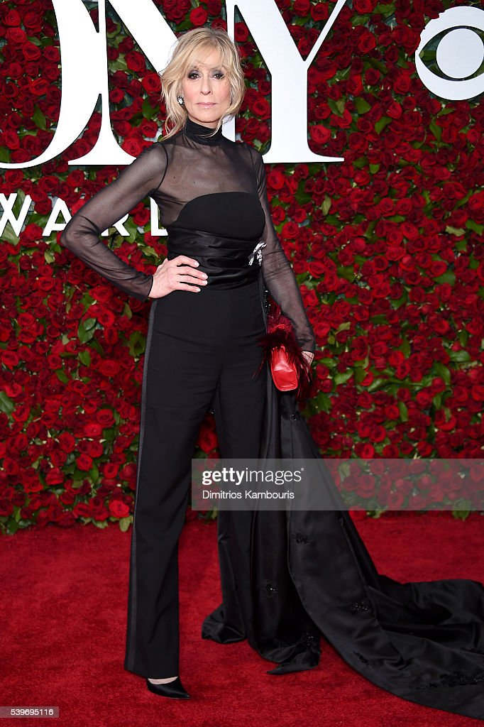 Actress <a gi-track='captionPersonalityLinkClicked' href=/galleries/search?phrase=Judith+Light&family=editorial&specificpeople=214207 ng-click='$event.stopPropagation()'>Judith Light</a> attends the 70th Annual Tony Awards at The Beacon Theatre on June 12, 2016 in New York City.