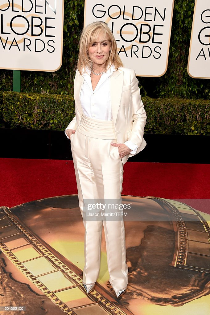 Actress <a gi-track='captionPersonalityLinkClicked' href=/galleries/search?phrase=Judith+Light&family=editorial&specificpeople=214207 ng-click='$event.stopPropagation()'>Judith Light</a> attends the 73rd Annual Golden Globe Awards held at the Beverly Hilton Hotel on January 10, 2016 in Beverly Hills, California.