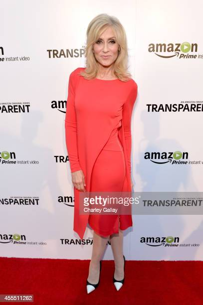 Actress Judith Light attends the Amazon red carpet premiere screening for brandnew dark comedy 'Transparent' at The Theatre at Ace Hotel on September...
