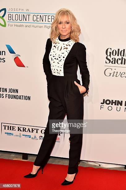 Actress Judith Light attends the Elton John AIDS Foundation's 13th Annual An Enduring Vision Benefit at Cipriani Wall Street on October 28 2014 in...