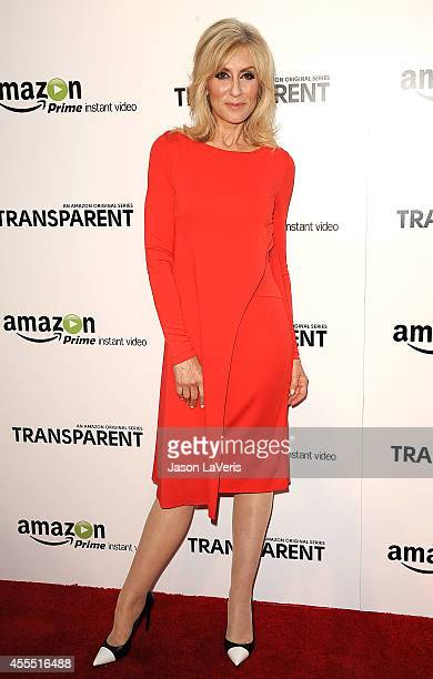 Actress Judith Light attends the premiere of 'Transparent' at Ace Hotel on September 15 2014 in Los Angeles California