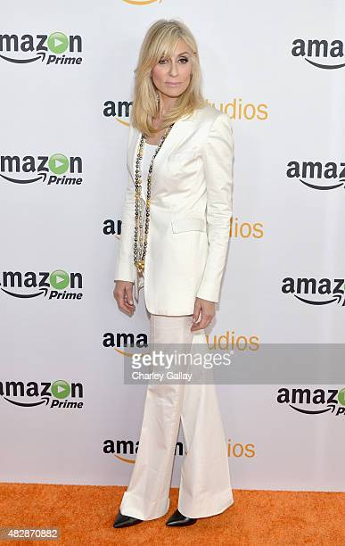 Actress Judith Light attends the 'Transparent' panel discussion at the Amazon Studios portion of the 2015 Summer TCA Tour on August 3 2015 in Beverly...