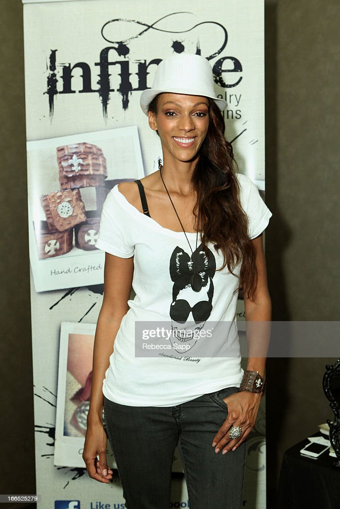 Actress Judith Shekoni at GBK Gift Lounge In Honor Of The MTV Movie Award Nominees And Presenters - Day 2 at W Hollywood on April 13, 2013 in Hollywood, California.