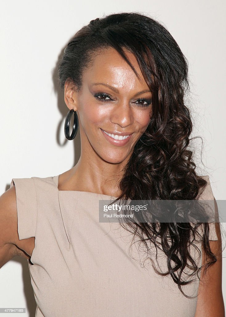 Actress Judith Shekoni attends Alexander Yulish 'An Unquiet Mind' VIP Opening Reception at KM Fine Arts LA Studio on March 8, 2014 in Los Angeles, California.