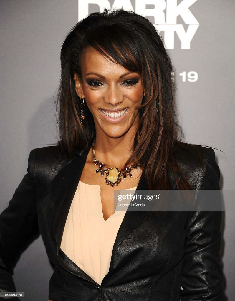 Actress Judith Shekoni attends the premiere of 'Zero Dark Thirty' at the Dolby Theatre on December 10, 2012 in Hollywood, California.