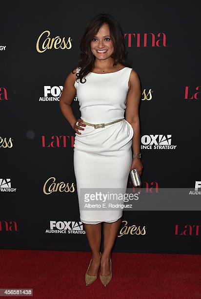 Actress Judiy Reyes attends LATINA Magazine's 'Hollywood Hot List' party at the Sunset Tower Hotel on October 2 2014 in West Hollywood California