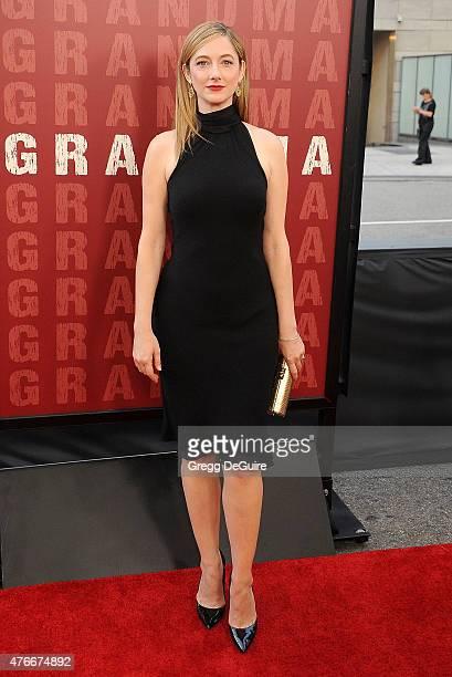 Actress Judy Greer arrives at the 2015 Los Angeles Film Festival opening night premiere of 'Grandma' at Regal Cinemas LA Live on June 10 2015 in Los...