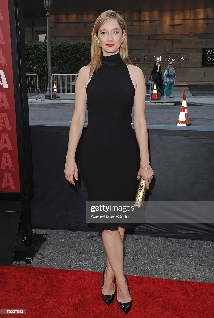 Actress <a gi-track='captionPersonalityLinkClicked' href=/galleries/search?phrase=Judy+Greer&family=editorial&specificpeople=214752 ng-click='$event.stopPropagation()'>Judy Greer</a> arrives at the 2015 Los Angeles Film Festival opening night premiere of 'Grandma' at Regal Cinemas L.A. Live on June 10, 2015 in Los Angeles, California.