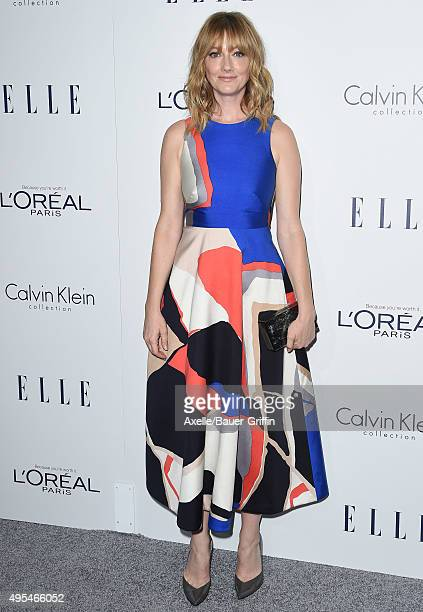 Actress Judy Greer arrives at the 22nd Annual ELLE Women In Hollywood Awards at Four Seasons Hotel Los Angeles at Beverly Hills on October 19 2015 in...