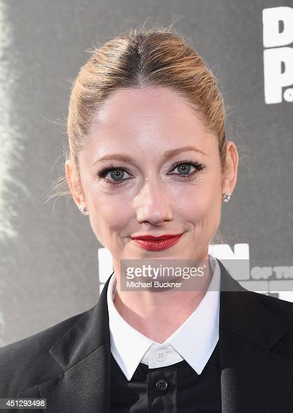 Actress Judy Greer arrives at the premiere of 20th Century Fox's 'Dawn Of The Planet Of The Apes' at Palace Of Fine Arts Theater on June 26 2014 in...