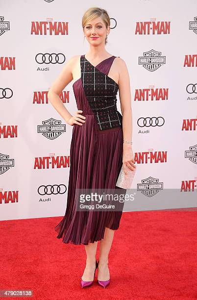 Actress Judy Greer arrives at the premiere of Marvel Studios 'AntMan' at Dolby Theatre on June 29 2015 in Hollywood California