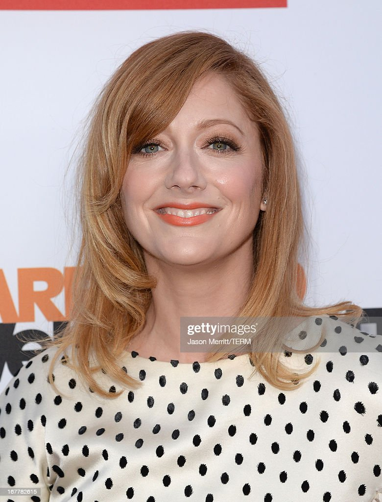 Actress Judy Greer arrives at the TCL Chinese Theatre for the premiere of Netflix's 'Arrested Development' Season 4 held on April 29, 2013 in Hollywood, California.