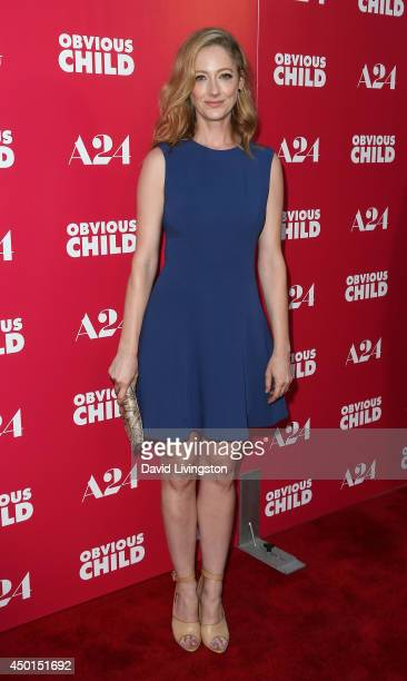 Actress Judy Greer attends a screening of A24's 'Obvious Child' at ArcLight Hollywood on June 5 2014 in Hollywood California