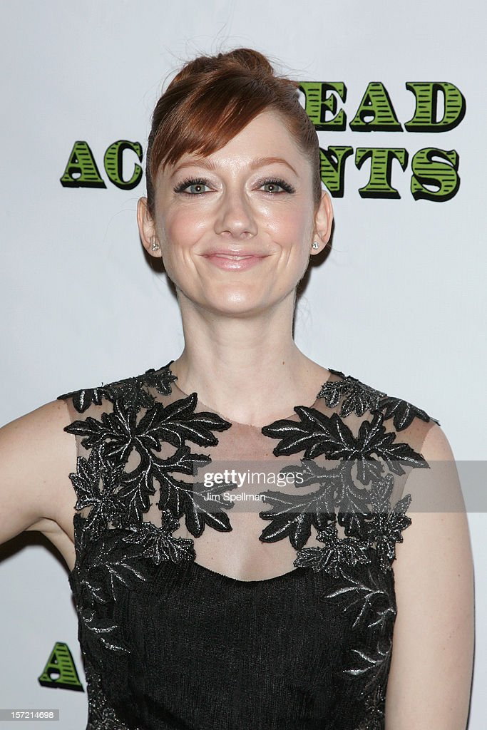 Actress Judy Greer attends 'Dead Accounts' Broadway Opening Night After Party at Gotham Hall on November 29, 2012 in New York City.