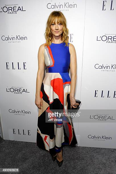 Actress Judy Greer attends the 22nd Annual ELLE Women in Hollywood Awards presented by Calvin Klein Collection L'Oréal Paris and David Yurman at the...